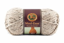 Wool Ease Thick & Quick Yarn- Oatmeal