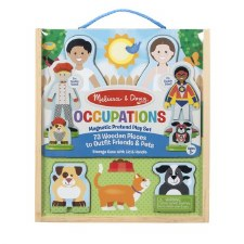 Melissa & Doug Magnetic Dress Up- Occupations