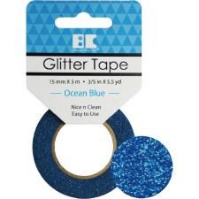 Best Creation Glitter Tape- Ocean Blue