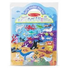 Melissa & Doug Reusable Puffy Sticker Kit- Ocean
