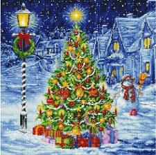 Diamond Facet Art Kit- O Christmas Tree