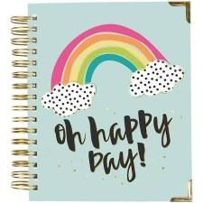 Carpe Diem Spiral Planner, Aug 2019-Dec 2020- Oh Happy Day