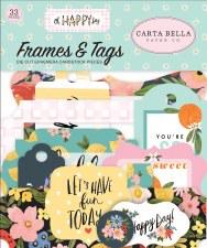 Oh Happy Day Ephemera Die Cuts- Frames & Tags