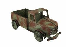 Rustic Metal Truck Planter