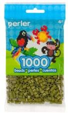 Perler Beads 1000 Piece- Olive