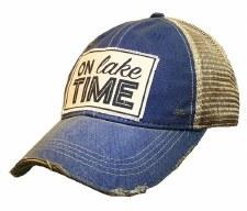 Women's Trucker Baseball Cap- On Lake Time