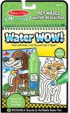 Melissa & Doug On The Go Water Wow!- Pet Mazes