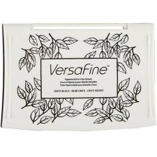 VersaFine Pigment Ink Pad- Onyx Black