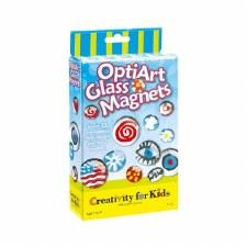 Creativity for Kids Mini Kits- OptiArt Glass Magnets