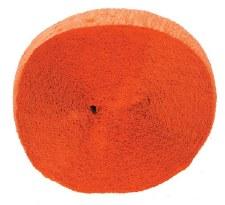 81' Crepe Streamer- Orange