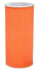 "6"" Tulle Roll, 25 yards- Orange"