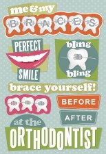 Cardstock Stickers- Orthodontist
