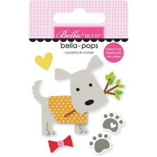 Cooper Bella-Pops Stickers- Oscar