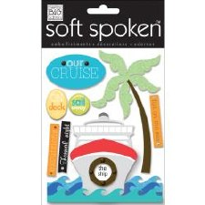 MAMBI Soft Spoken Stickers- Travel- Our Cruise