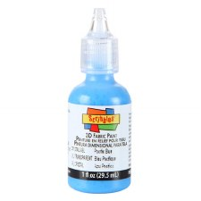 Scribbles Writer, 1 oz- Crystal Gel- Pacific Blue