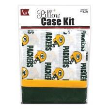 Pillowcase Kit- Green Bay Packers