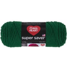 Red Heart Super Saver Yarn- Paddy Green