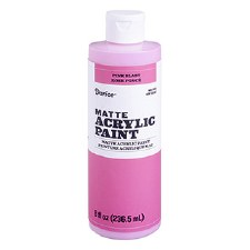 Matte Acrylic Paint, 8oz- Pink Blast