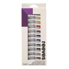 Reeves Paint Set- Oil, 12ct