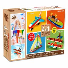 Craft Kit- Paint Your Own Wooden Vehicles