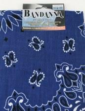 "Bandana, 22""x22""- Royal Blue"