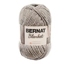 Bernat Blanket Yarn- Pale Grey