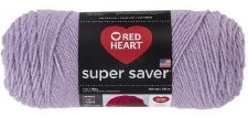 Red Heart Super Saver Yarn- Pale Plum