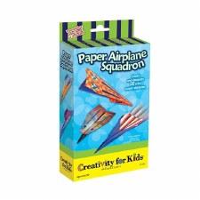 Creativity for Kids Mini Kits- Paper Airplane Squadron