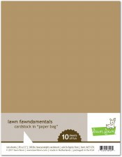 Lawn Fawn Cardstock Pack- Paper Bag