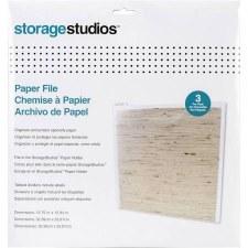 Storage Studios Paper Files, 3pk
