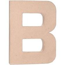 """12"""" Paper Mache Letter- B"""
