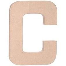 "12"" Paper Mache Letter- C"