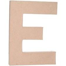 """12"""" Paper Mache Letter- E"""