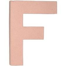 """12"""" Paper Mache Letter- F"""