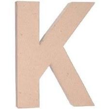 "12"" Paper Mache Letter- K"
