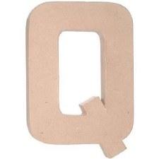 "12"" Paper Mache Letter- Q"