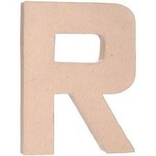 """12"""" Paper Mache Letter- R"""