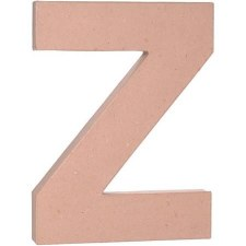 "12"" Paper Mache Letter- Z"