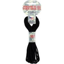 Parachute Cord 3mm x 21ft- Black