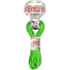 Parachute Cord 3mm x 21ft- Green