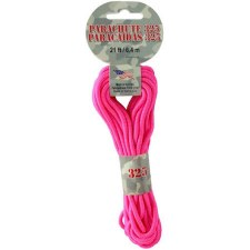 Parachute Cord 3mm x 21ft- Pink