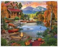 Paradise Lake- 1,000 Piece Puzzle