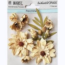 49 & Market Paper Flowers- Parchment