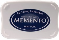 Memento Dye Ink Pad- Paris Dusk
