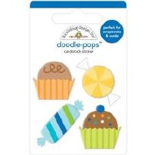 Party Time Doodle-Pops Stickers- Party Favors
