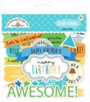 Party Time Die Cuts- Chit Chat