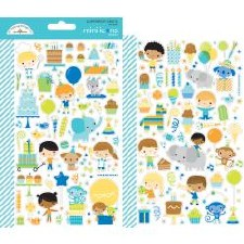 Party Time Stickers- Mini Icons
