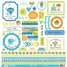Party Time Stickers- This & That