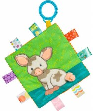 Taggies Crinkle Me Baby Toy- Patches Pig