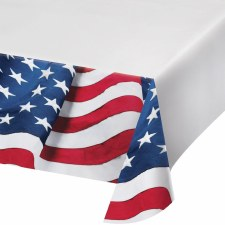 Patriotic Flag Tablecover